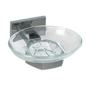 Oval Shaped Glass Soap Dish